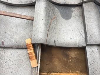 銅線 長め 瓦復旧