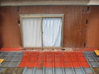 外壁工事、ベランダ解体