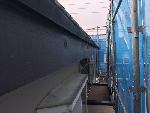 雨樋交換 吊金具撤去 解体