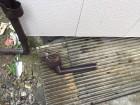 新潟市秋葉区 雨樋 落下 上戸 集水器