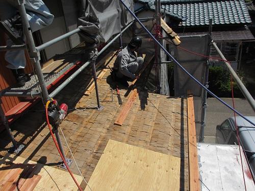 屋根水切り 交換 下地