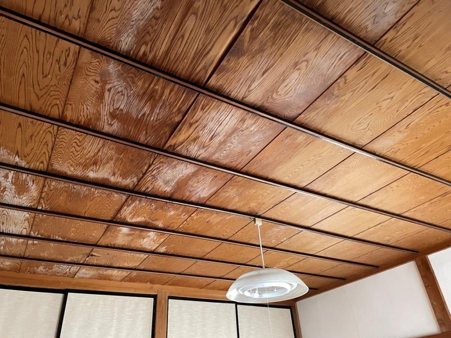 1階寝室雨漏れ工事