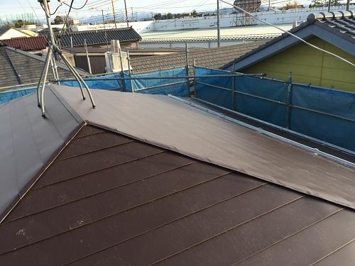 屋根カバーリング 竣工