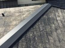 新潟市南区 屋根 スレート 棟板金交換
