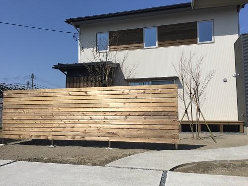 外壁 新築 長岡 与板 外壁 屋根