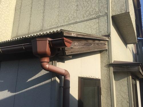 テラス 破風板 塗装