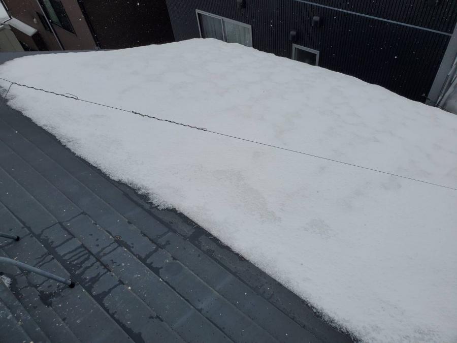 雪止めアングル外れ