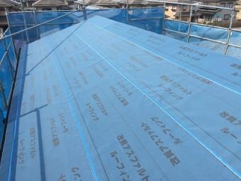 屋根張替工事、下葺