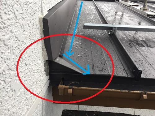 屋根葺き替え工事 土居棟 雨漏れ防止策
