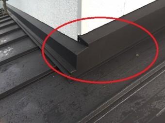 屋根葺き替え工事 土居棟 新規水切り