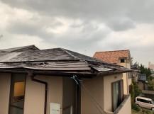 新潟市西区で強風被害に遭った屋根板金