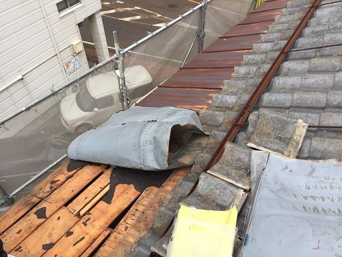 雨樋交換、屋根張替