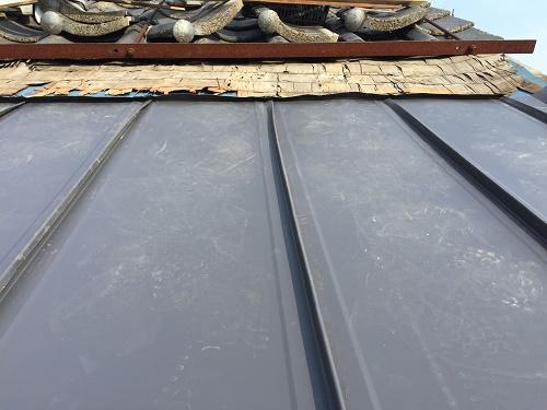 屋根張り 金属屋根