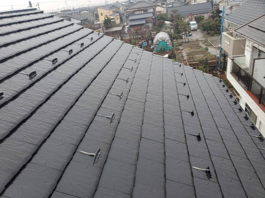 棟板金の劣化による雨漏れ被害