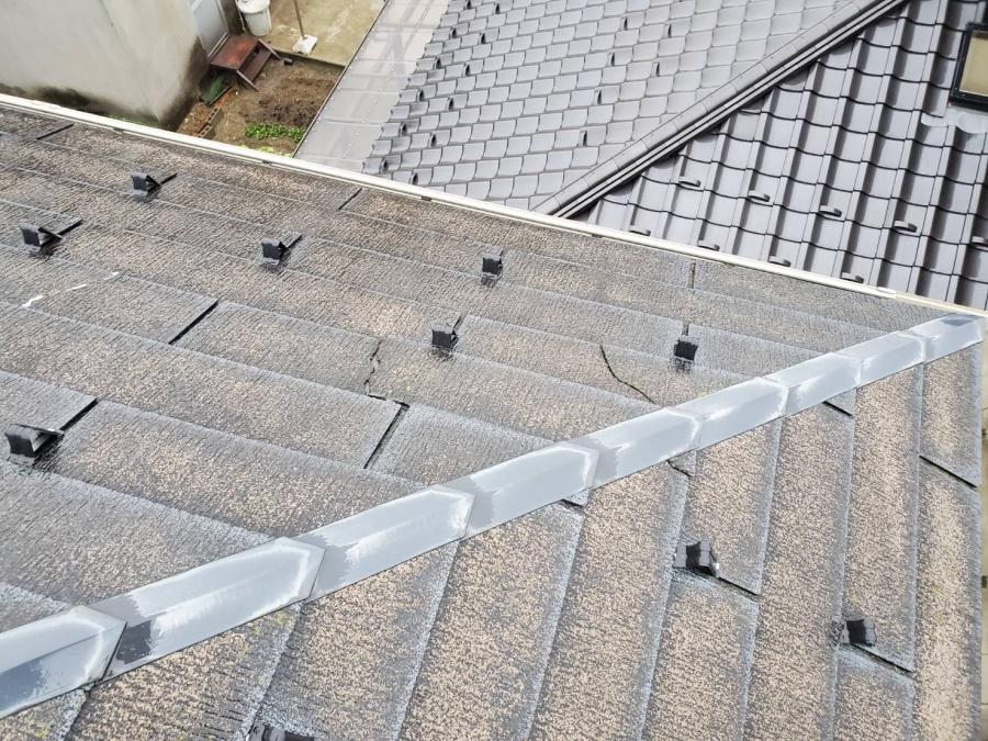 スレート屋根破損被害
