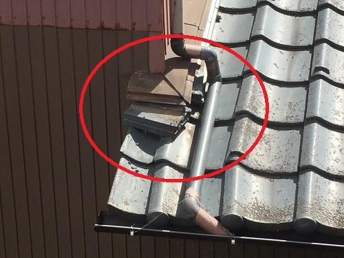 瓦屋根点検 瓦のずれ