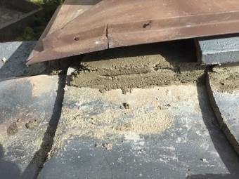 瓦屋根修繕 土居棟セメント