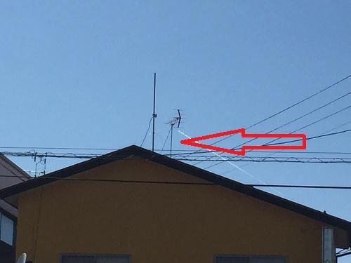 TVアンテナ交換工事 完了