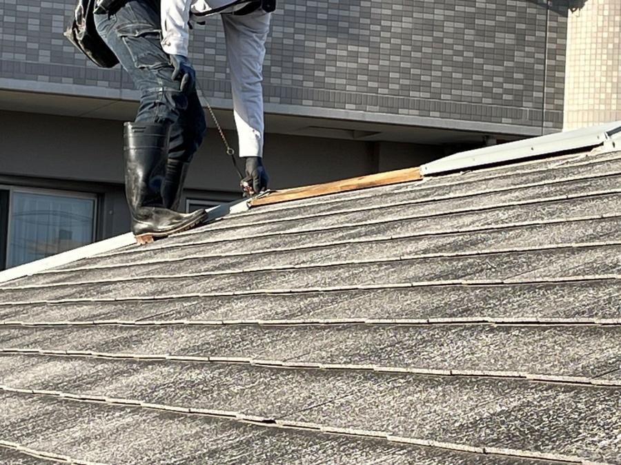 【風害】新潟市中央区にて棟板金飛散被害でお問い合わせを頂きました
