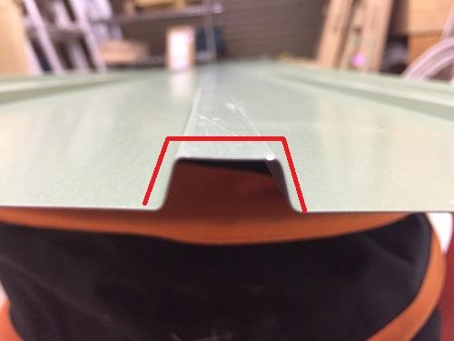 角波板の寸法