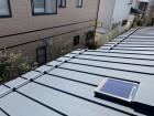 新潟市秋葉区にて雪止めアングル取り付け工事