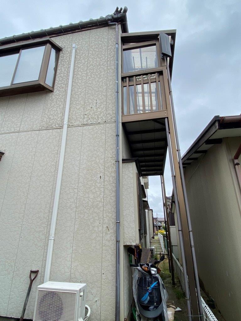 軒樋・竪樋交換工事