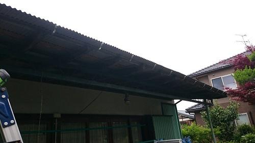 雨樋工事 吊り金具設置