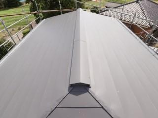 屋根部材解体作業