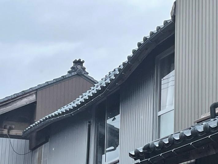 垂木折れの為下地やり直し工事