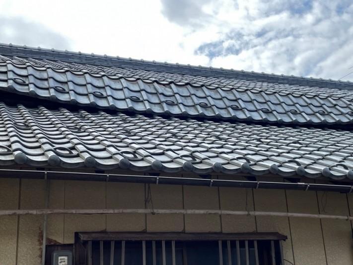 垂木折れで屋根葺き直し工事