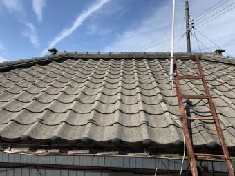 セメント瓦屋根葺き替え工事
