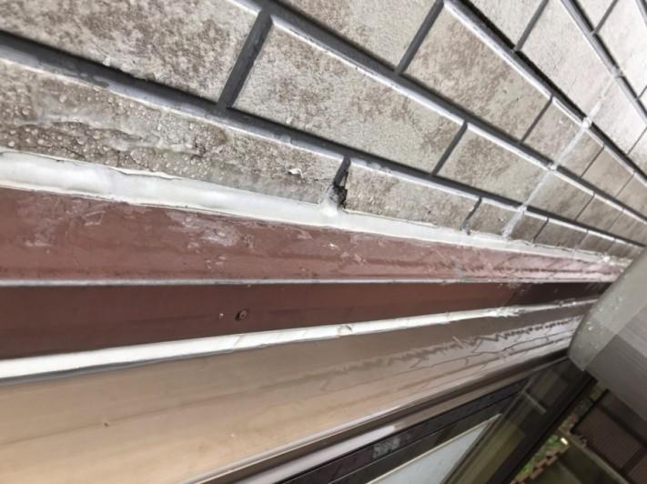 外壁の劣化によって雨漏り