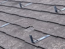 スレート屋根修繕工事