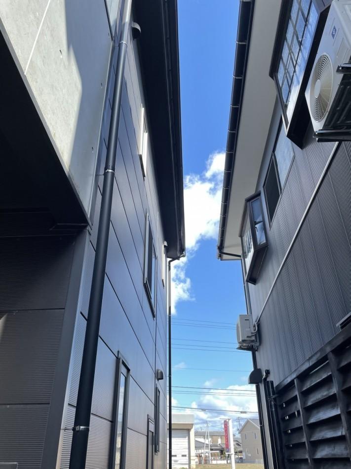 雪止めアングル増設・雨樋修繕