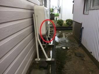 雨樋調査 雨たれ