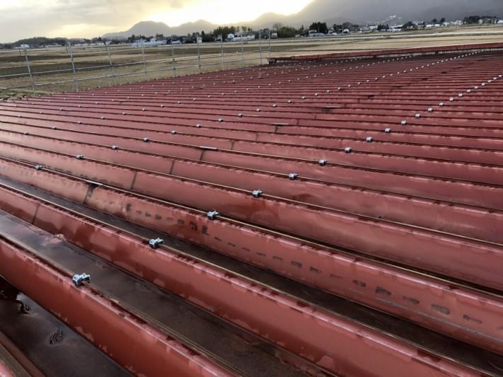 屋根カバー工法工事の流れ