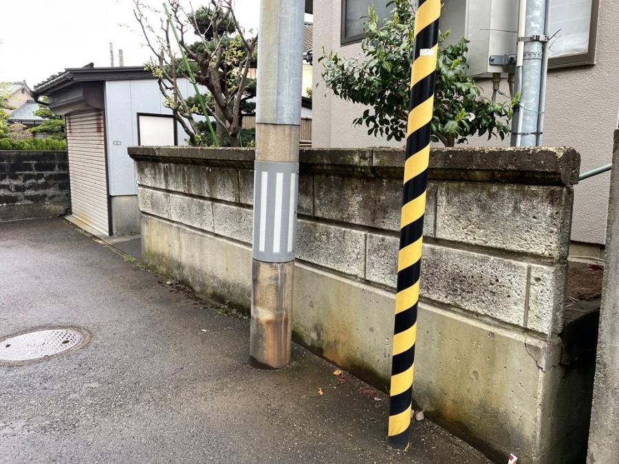 新潟市江南区にて大谷石塀解体のご相談を頂きました