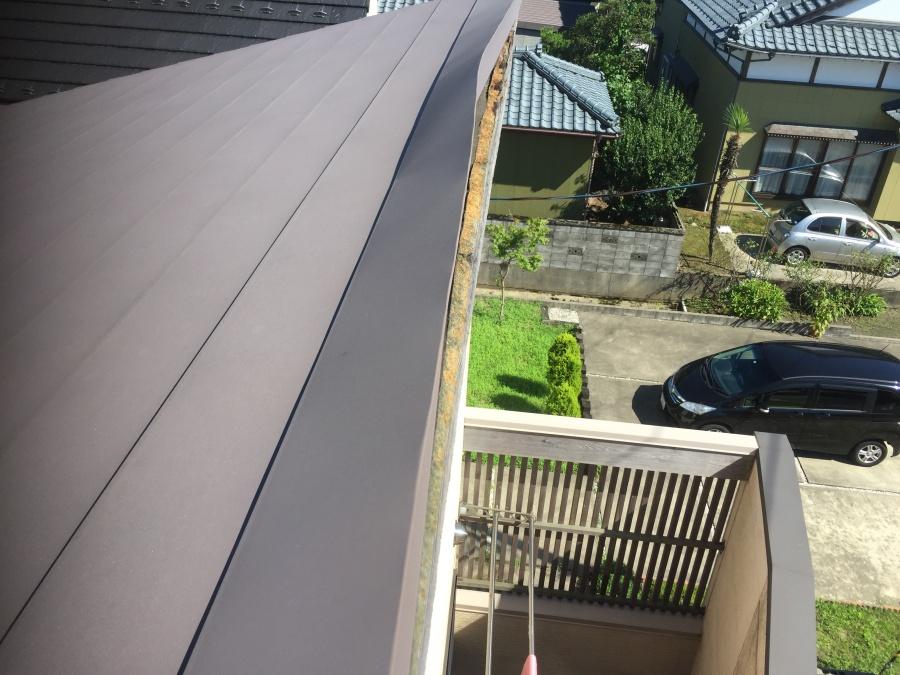 片流れ屋根雨漏り修繕工事