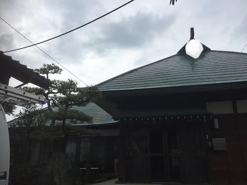 古民家 屋根 カバー