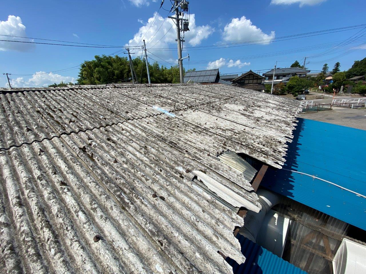 社屋の屋根カバーリング工事