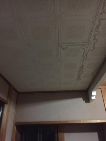 玄関天井 テックス