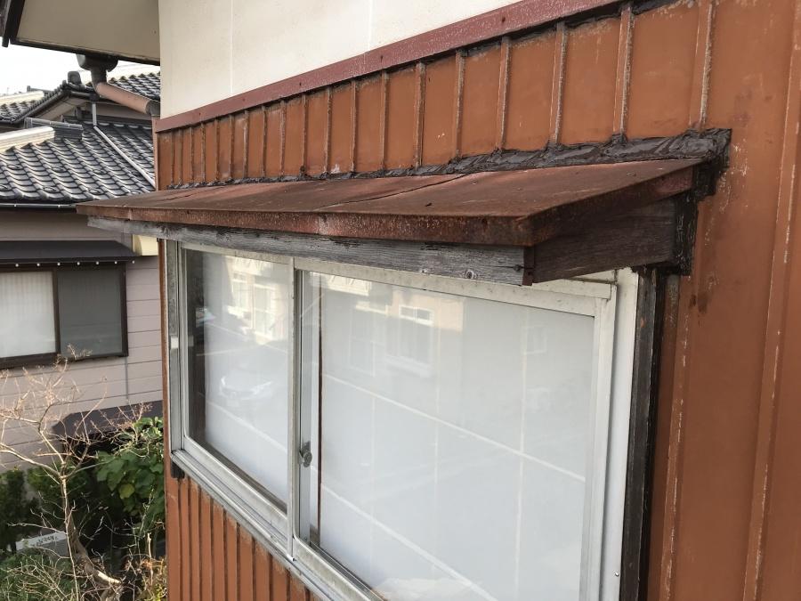 外壁・庇廻りをコーキング工事