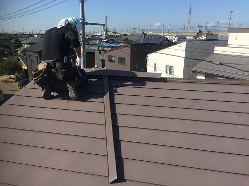 屋根 解体工事