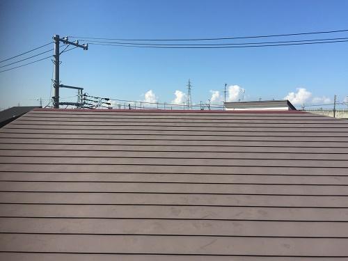 板金屋根 竣工 雨漏り 修理