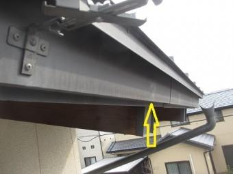 雨樋修繕、吊り金具交換工事