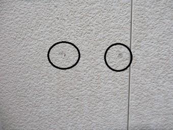 外壁塗装、剥離