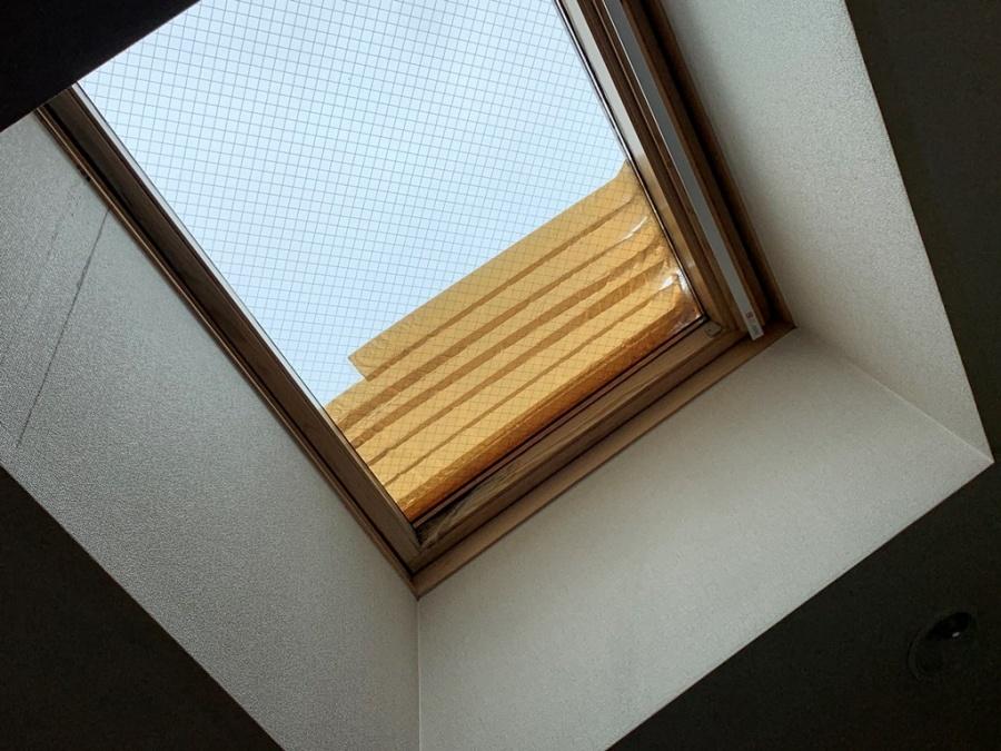 天窓撤去工事