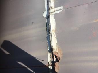 板金屋根 雨漏れ 雨漏り