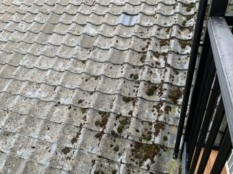 浴室天井から雨漏り