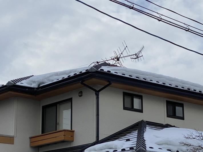 TVアンテナ倒壊